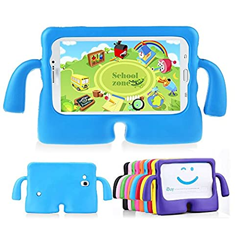 Muze (TM)-Housse Samsung Galaxy Tab 3, Protection en caoutchouc Poignée anti-chocs Housse étui en mousse (Custodia Protettiva In Gomma)