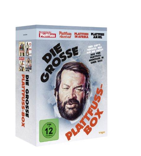 Die große Plattfuß-Box [4 DVDs] Standard Dvd-box
