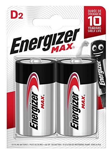 Energizer Batterien D, Max, 2 Stück -