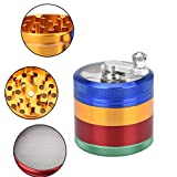 from Kxnet Kxnet Herb Grinder 4-layer Metal Spice 54mm Herbal Tobacco Grinders Colorful Smoke Grinder Spice Graters Crusher