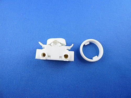 Lampada da incasso interruttore a bilanciere per interruttore a bilanciere 6a 250V ~ bianco ricambio interruttore