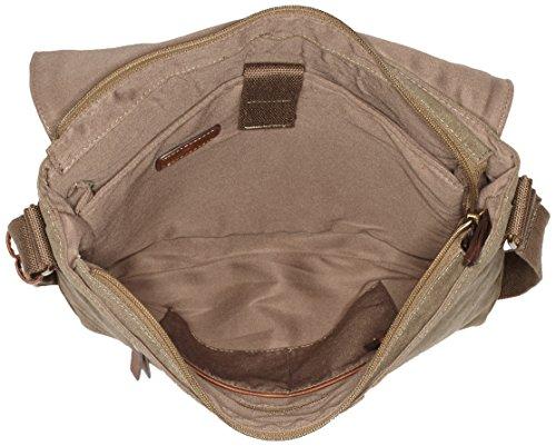 Tom Tailor Acc JURI 20026 Herren Umhängetaschen 36x29x9 cm (B x H x T) Grün (khaki 35)