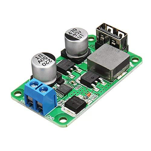 Be82aene 3 stücke 5 V 5A DC USB Buck Hochleistungsmodul USB Lade Step Down Power Board Hochstrom Unterstützung QC3.0 Schnellladegerät Constant Voltage Current -