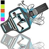 K-ZAR Universel Brassard de Sport Anti-Sueur pour iPhone 8/7 Plus 6/6s/5/5C/5S...
