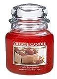Village Candle Duftkerze 14 x 10 cm (899 g) Frische Erdbeeren