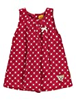Steiff Baby-Mädchen Kleid o. Arm, Rot (Allover|Multicolored 0003), 74