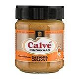 Calve Pindakaas Erdnussbutter Karamell Seesalz 210g Beliebte Nussaufstrich aus Holland