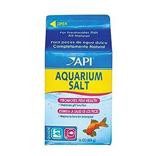 API AQUARIUM SALT Freshwater Aquarium Salt 453-Gram Box