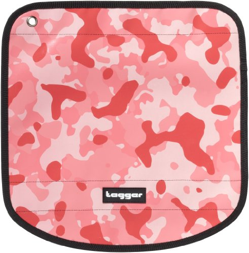 Tagger Messenger Flap Crew - Camo Pink PIPR 5001-410293-PIPR, Valigetta unisex adulto - Rosa Rosa