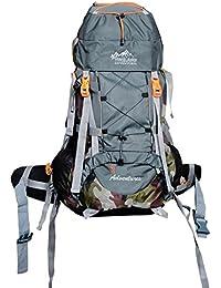 Himalayan Adventures 55 Ltrs, Purple, Backpack/Rucksack/Travelling Bag/Hiking Bag/Adventure Bag/Camping Bag (Nylon...