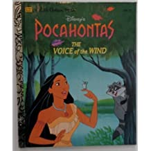 Pocahontas: The Voice of the Wind (Little Golden Book) by Justine Korman (1995-10-01)