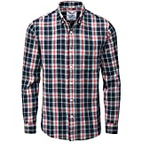Charles Wilson Men\s Long Sleeve Checked Flannel Shirt
