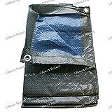 Tec Hit 890150 bâche légère de protection 68g/m² - 4x5m Bleu/Vert