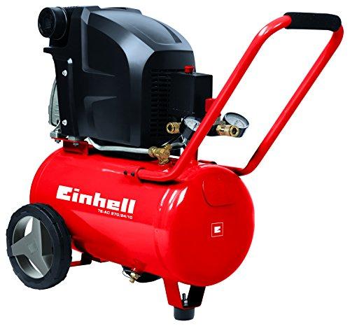 Einhell TE-AC 270/24/10 - Compresor de Aire 1.8 kW