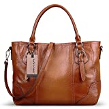 Jack&Chris Large Practical Women Genuine Leather Tote Satchel Shoulder Handbags, SF80...