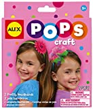 ALEX Toys - Do-it-Yourself Wear! Pretty Headbands, 1198 makes it so easy to make and decorate headbands! Contains (3) fabric flowers, (1) satin headband, (1) stretchy headband, (1) gem stem, (6) tulle squares and easy instructions. Great for gifts! D...