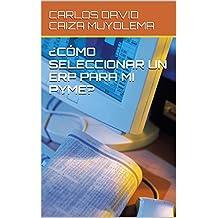 ¿CÓMO SELECCIONAR UN ERP PARA MI PYME? (Spanish Edition)