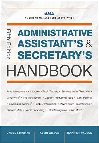 Administrative Assistant's & Secretary's Handbook (Administrative Assistant's and Secretary's Handbook)