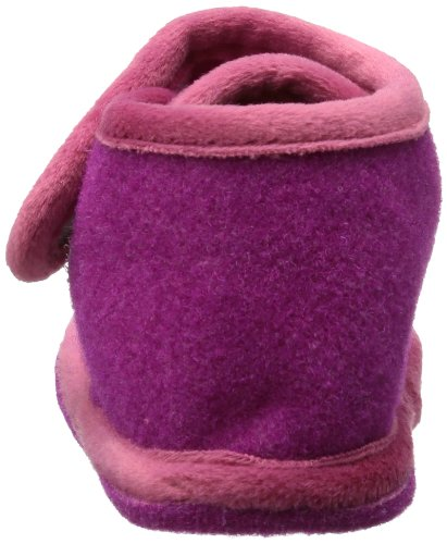 Adelheid  Zuckersüss Filzriegelschuh, Hi-Top Slippers fille Rose - Pink (pink 661)
