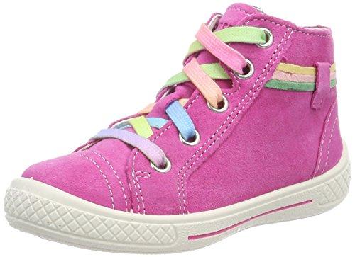 Superfit Mädchen Tensy Hohe Sneaker, Pink (Pink Kombi), 30 EU