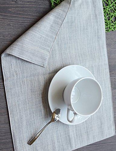 LIANJUN Servilleta Simples de algodón tela servilletas de tela Western en la...