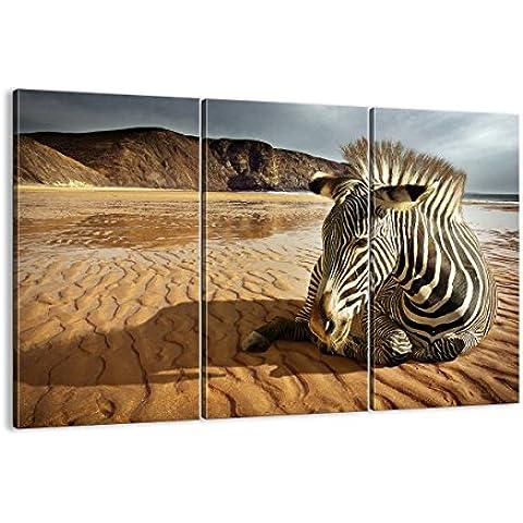Cuadro sobre lienzo - 3 piezas - Impresión en lienzo - Ancho: 165cm, Altura: 110cm - Foto número 0213 - listo para colgar - en un marco -