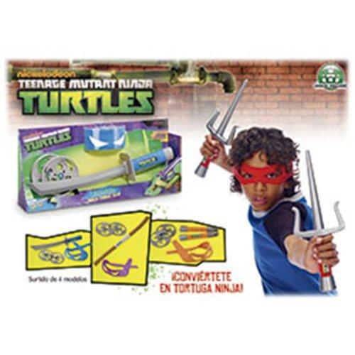Teenage Mutant Ninja Turtles Gear - Combattimento Ninja, Modelli assortiti, 1 pz