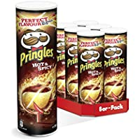 Pringles Hot & Spicy Chips | 6er Party-Pack (6 x 200g)