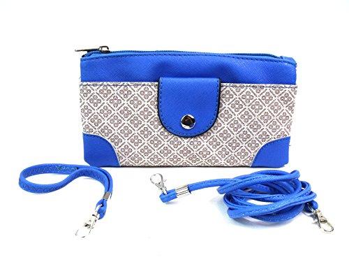 Emporium Leather, Poschette giorno donna Blu