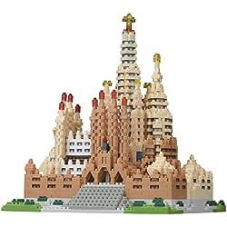 Unbekannt nanoblock NB -028Mini diseño Puzzle en 3D de Piedra–Sagrada Familia
