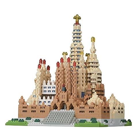 Nanoblock Sagrada Familia Spain Deluxe Edition Set NB-028