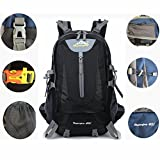 40L Mens Outdoor Waterproof Breathable Sports Backpack Travel Hiking Camping Rucksack Bike Bag Best Christmas Gift