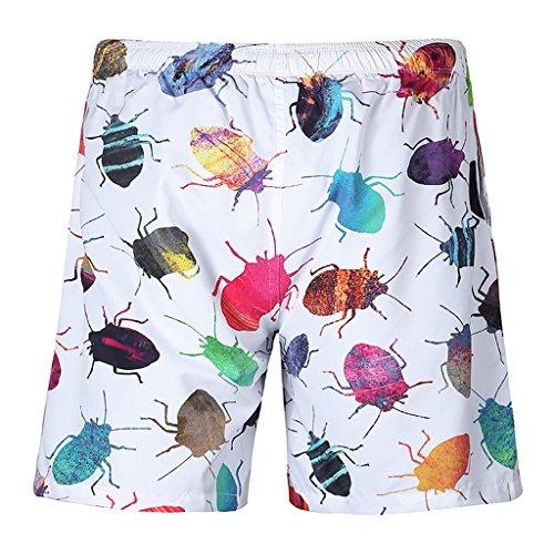 insectes-imprime-board-short-plage-surf-shorts-pour-hommes-garcons-xl
