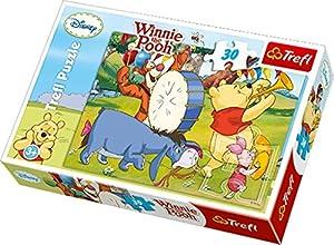 TREFL 18168 Puzzle Puzzle - Rompecabezas (Puzzle Rompecabezas, Dibujos, Niños, Winnie The Pooh, Winnie, Donkey, Tiger, Niño/niña)