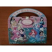 8 libros cartón princesas Disney Blancanieves, Bella Durmiente, Ariel, Yasmín, Ariel, Pocahontas, Bella, Mulan