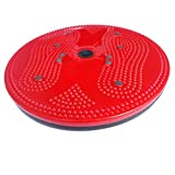 #4: Inditradition Tummy Twister, A Dynamic Body Balancing Disc, Solid Plastic, Red