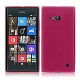 TBOC® Rosa Gel TPU Hülle für Nokia Lumia 730 Dual SIM