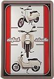 Schwalbe Simson Roller DDR Motorrad 20 x 30 cm Reklame Retro Blechschild Blech 208