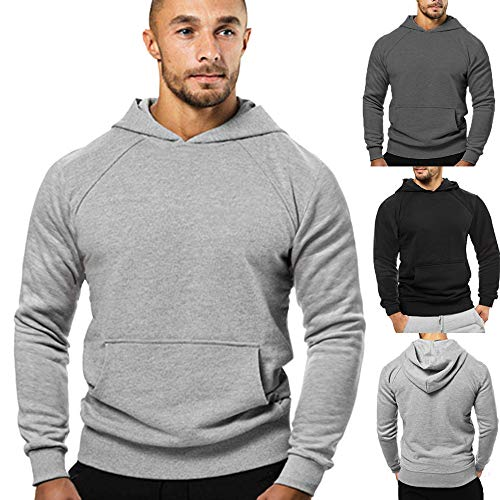Day.LIN Unisex Kapuzenpullover Trendy Gesichter Saison Stranger Things Kapuzen Sweatshirts Langarm Hip Hop Baumwolle Pullover