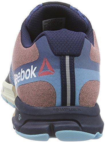 Reebok ONE Cushion 2.0 Herren Laufschuhe Blau (Fauxindigo/Batikblu/Blpool/Crl/Pprwht/Wlnt-Pr)