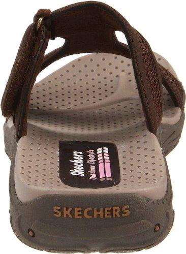 Skechers ReggaeRockfest 47786 Damen Clogs & Pantoletten Braun (Choc)