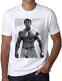 Arnold Schwarzenegger para hombre T-Shirt ONE IN THE CITY