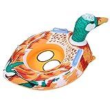 artistic9aufblasbar Float Boot Sitz Cartoon Baby Pool aufblasbare Schwimmen Sicher, Raft Kid Wasser Auto für Baby Unter 4Jahren, sicher Gewicht 30kg, Blau