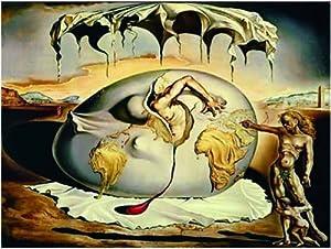 Editions Ricordi NIÑO 5901N32078 - Puzzle de 1500 Piezas del Cuadro Hijo Geopolítico presenciando el Nacimiento de un Hombre Nuevo  de Dalí