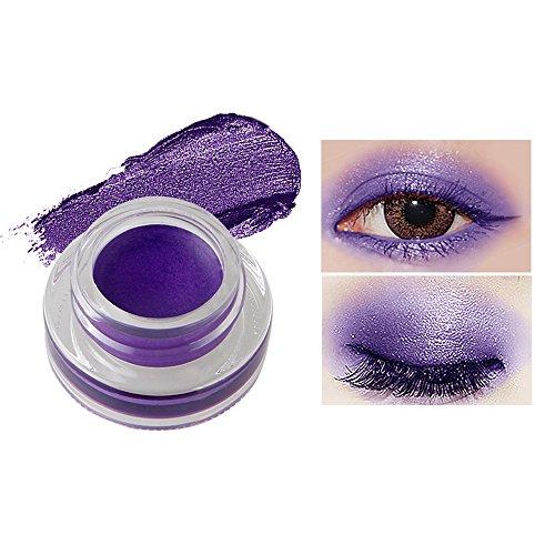 Fards à paupières gel,15 couleurs Imperméable à l'eau eyeliner gel eye liner-Lonshell (13#)