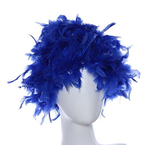 ken für Frauen und Männer, Masquerade Disco Tanz, Kleid, kleine Rolle mit kurzer Straight-Perücke mit Perücken mit Design, das als Einheitsgröße (Masquerade Kostüm Für Mann)