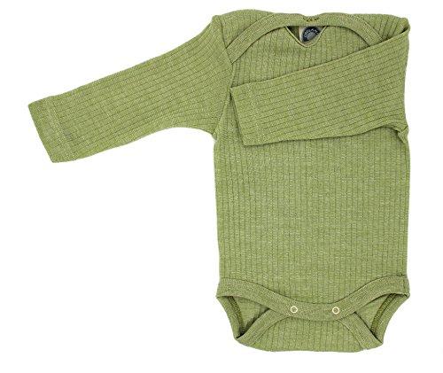 Cosi lana baby Body WOLL Body® especial calidad 45%, algodón orgáni