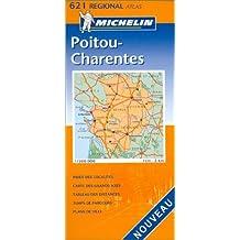 Atlas routiers : Poitou-Charentes, N°20621