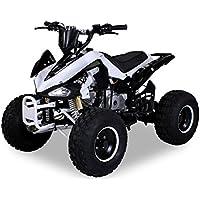 Kinder Quad S-14 125 cc Motor Miniquad 125 ccm weiß/schwarz Speedy