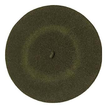 L&C®New Fashion Unisex Men Women Wool Warm Beret Beanie Hat Cap French Style Gift (Army green)